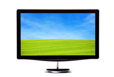 Nature Screen. Full hd television Royalty Free Stock Photography