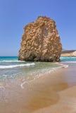 Nature sculpture, Fyriplaka beach, Milos, Greece Stock Photos