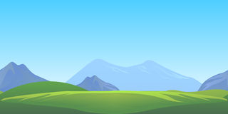Nature seamless game background Royalty Free Stock Image