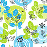 Nature seamless pattern Stock Images