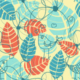 Nature seamless pattern Royalty Free Stock Image