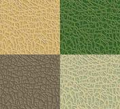 Nature seamless pattern Stock Photography