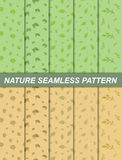 Nature seamless pattern. Illustration of nature seamless pattern.spring and autumn theme Royalty Free Stock Photography