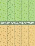 Nature seamless pattern. Illustration of nature seamless pattern.spring and autumn theme stock illustration