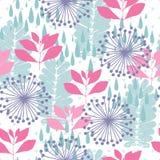 Nature seamless pattern royalty free illustration
