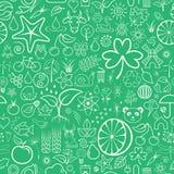 Nature Seamless Wallpaper Stock Photo