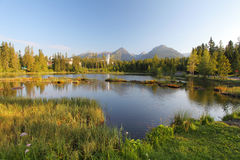 Nature See Lizenzfreies Stockbild