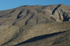Desert Deep Contrast. Nature, sharp color contrast, rocks, desert formations Royalty Free Stock Photos