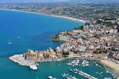 Nature of Sicily stock photography