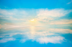 Nature sky of clouds in the blue sky cloud. Abstract background of sky, clouds in the blue sky cloud aerial view heaven sky weather nature sky of clouds in the Stock Images
