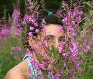 Nature smile Stock Photo