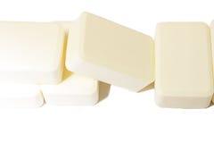 Nature soap on white background Stock Image