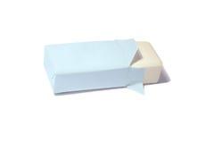 Nature soap on white background Royalty Free Stock Image
