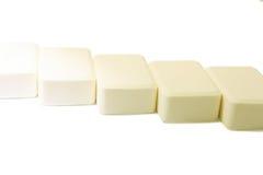 Nature soap on white background Royalty Free Stock Photo
