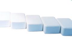 Nature soap on white background Stock Photography