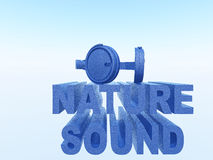 Nature sound Royalty Free Stock Photography