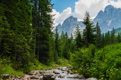 Nature of South Tyrol Stock Photo