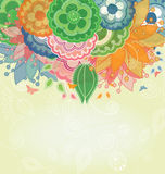 Nature Spring Vector Background Royalty Free Stock Image