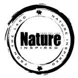 Nature stamp stock illustration