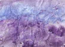Nature stone watercolor background Royalty Free Stock Photography