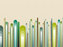 Nature Style Striped Background. Nature Style Striped Green Background royalty free illustration