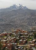 Nature sud-américaine dans La Paz, Bolivie photographie stock