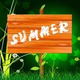 Nature Summer Represents Outdoors Rural And Natural Royalty Free Stock Photos