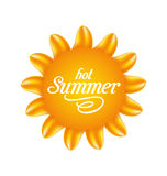 Nature Sunny with Text, Abstract Summer Background Royalty Free Stock Photos