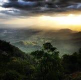 Nature Sunrays royalty free stock image