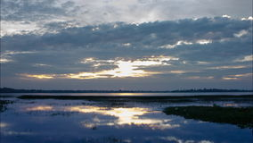 Nature,sunrise,time lapse stock video footage