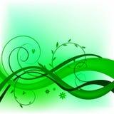 Nature_swirl_design 免版税库存照片