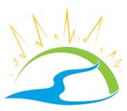 Nature symbol Stock Photo