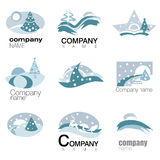 Nature symbol vector Stock Image
