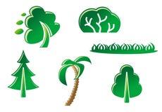 Nature symbols Royalty Free Stock Photography