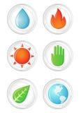 Nature symbols stock photo