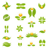 Nature symbols Royalty Free Stock Photography