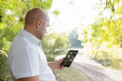 On the nature of the tablet Stock Images