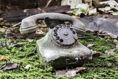 Nature telephone Royalty Free Stock Image