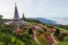 Nature of Thailand: The Great Holy Relics Pagoda Nabhapolbhumisiri Stock Photography
