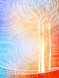 Nature theme banner Stock Image