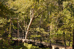 Nature Trail Footbridge, Side Stock Photography