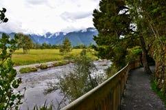 Nature Trail at Lake Matheson Royalty Free Stock Photography