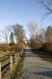 Nature Trail in Ohio stock image