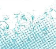 Nature tramée bleue illustration libre de droits