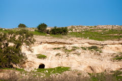 Nature travel in Israel Stock Image
