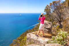 Travel photographer Stock Photography