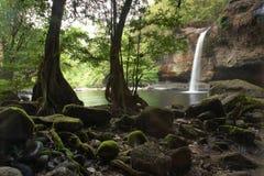 Nature travel in thailand. Waterfall in prajeenburi from thailand Stock Photos