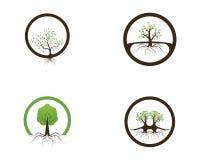 Nature tree icon logo design vector illustration.  vector illustration