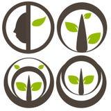 Nature tree symbol illustration Stock Photography