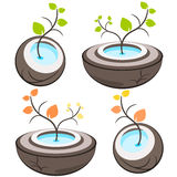 Nature tree symbol illustration Royalty Free Stock Photo